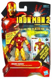 Iron Man 2 Comic 4 Inch Action Figure #30 Iron Man [Neo-Classic]