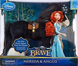 Disney / Pixar BRAVE Movie Exclusive 12 Inch Deluxe Doll 2-Pack with Sound Merida & Angus