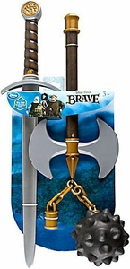 Disney / Pixar BRAVE Movie Exclusive Deluxe 3 Piece Weapon Set [Sword, Axe & Mace]