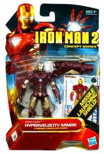 Iron Man 2 Concept 4 Inch Action Figure #5 Iron Man [Hypervelocity Armor]