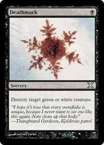 Magic the Gathering Tenth Edition Single Card Uncommon #134 Deathmark