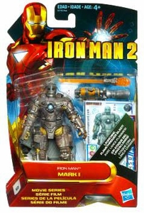 Iron Man 2 Movie 4 Inch Action Figure #1 Iron Man Mark I