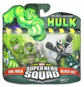 Incredible Hulk Movie Series 2 Super Hero Squad 2-Pack King Hulk & Black Bolt