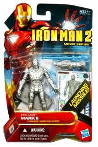 Iron Man 2 Movie 4 Inch Action Figure #2 Iron Man Mark II