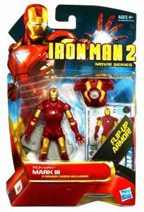 Iron Man 2 Movie 4 Inch Action Figure #3 Iron Man Mark III