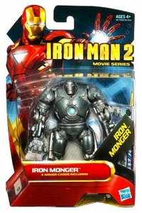 Iron Man 2 Movie 4 Inch Action Figure #7 Iron Monger