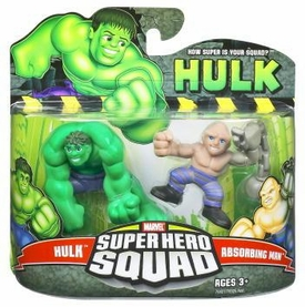 Incredible Hulk Movie Series 2 Super Hero Squad 2-Pack Hulk & Absorbing Man