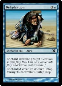 Magic the Gathering Tenth Edition Single Card Common #78 Dehydration