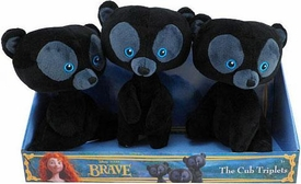Disney / Pixar BRAVE Movie Plush 3-Pack The Cub Triplets