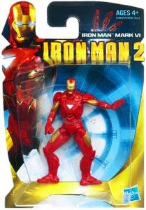 Iron Man 2 Movie 3 Inch Action Figure Iron Man Mark VI