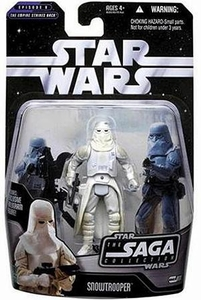 Star Wars Saga 2006 Basic Action Figure #11 Snowtrooper
