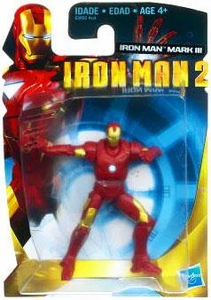 Iron Man 2 Movie 3 Inch Action Figure Iron Man Mark III