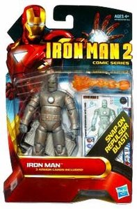 Iron Man 2 Comic 4 Inch Action Figure #22 First Appearance Iron Man