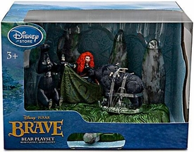 Disney / Pixar BRAVE Movie Exclusive Bear Playset