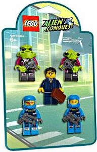 LEGO Alien Conquest Mini Figure 5-Pack Set #853301 Battle Pack