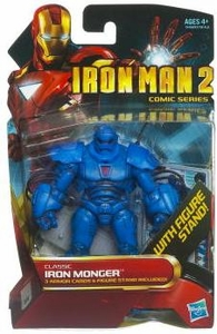 Iron Man 2 Comic 4 Inch Action Figure #35 Classic Iron Monger
