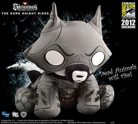 Skelanimals 2012 SDCC San Diego Comic Con Exclusive Plush Jae as Dark Knight Rises Batman