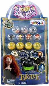 Disney / Pixar BRAVE Movie Exclusive Squinkies 14-Pack