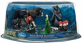 Disney / Pixar BRAVE Exclusive 6 Piece Deluxe PVC Figurine Set