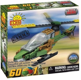 COBI Blocks Small Army #2115 Gamma Helicopter