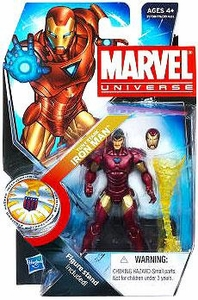 Marvel Universe 3 3/4 Inch Series 16 Action Figure #22 Tony Stark Iron Man