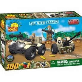 COBI Blocks Small Army #2215 ATV with Cannon