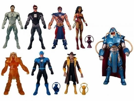 DC Universe Classics Series 17 Set of 7 Action Figures [Build Anti-Monitor Figure]