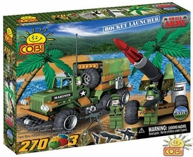 COBI Blocks Small Army #2371 Rocket Launcher