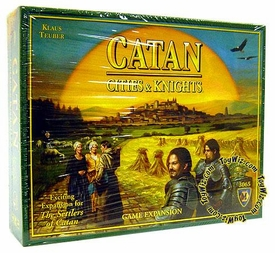 Board Game The Cities & Knights of Catan