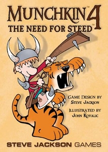 Board Game Munchkin 4: the Need for Steed