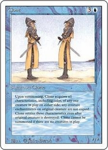 Magic the Gathering Revised Edition Single Card Uncommon Clone