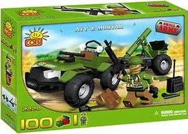 COBI Blocks Small Army #2220 ATV & Mortar