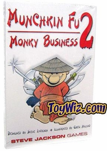 Board Game Munchkin Fu 2 - Monky Business