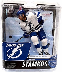 McFarlane Toys NHL Sports Picks Series 29 Action Figure Steven Stamkos (Tampa Bay Lightning) White Uniform Bronze Collector Level Chase Only 2,000 Made!
