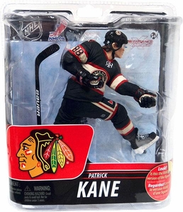 McFarlane Toys NHL Sports Picks Series 29 Action Figure Patrick Kane (Chicago Blackhawks) Retro Black Jersey Bronze Collector Level Chase Only 2,500 Made!
