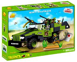 COBI Blocks Small Army #2420 Scout Halftrack