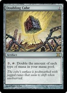 Magic the Gathering Tenth Edition Single Card Rare #321 Doubling Cube