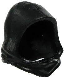 GI Joe 3 3/4 Inch LOOSE Action Figure Accessory Black Hood
