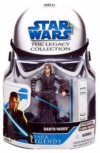Star Wars 2008 Legacy Collection Saga Legends Action Figure SL No. 03 Anakin Skywalker [Darth Vader]