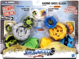 Beyblades Beywheelz 2-Pack Raging Skies Slash