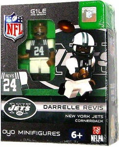 OYO Football NFL Building Brick Minifigure Darrelle Revis [New York Jets]