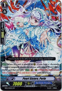 Cardfight Vanguard ENGLISH Banquet of Divas Single Card RR Rare EB02-004EN Pearl Sisters, Perle