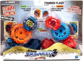 Beyblades Beywheelz 2-Pack Thunderflash
