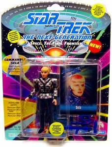 Star Trek: The Next Generation Playmates Action Figure Sela