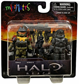 Halo Minimates Series 1 Mini Figure 2-Pack Jorge & Noble 6