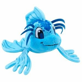 Neopets Collector Species Series 5 Plush with Keyquest Code Blue Koi