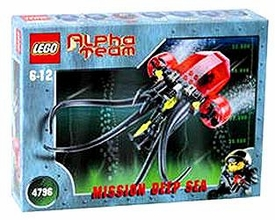 LEGO Alpha Team Set #4796 Ogel Mutant Squid Deep Sea