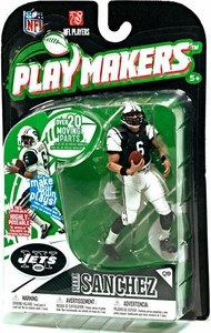 McFarlane Toys NFL Playmakers Series 1 Action Figure Mark Sanchez (New York Jets)