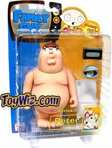 Family Guy Mezco Series 2 Action Figure Naked Peter