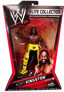 Mattel WWE Wrestling Elite Series 9 Action Figure Kofi Kingston